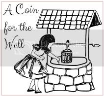 A Coin for the Well banner, A Coin For the Well blog