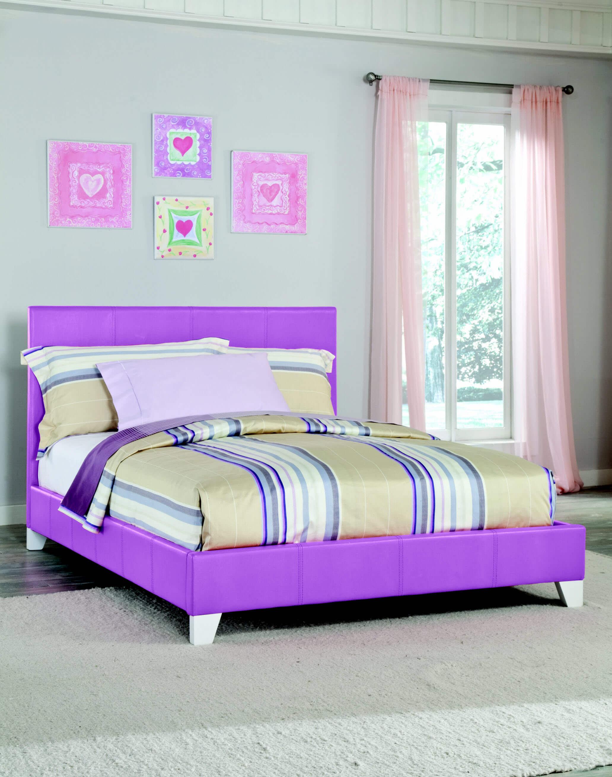 269 Kith Twin Purple Girls Bed