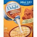 International Delight Creamer Singles, Caramel Macchiato - 24 count