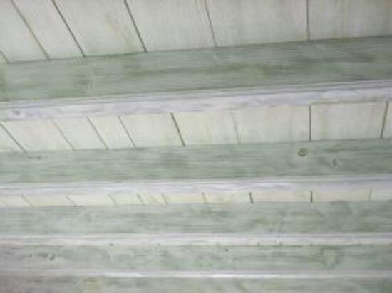 Poutre Plafond Rampe Bois Effet Ceruse Delphcréation