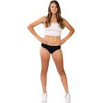 Stashitware Secret Stash Pocket Underwear, Women's Bikini Brief Black