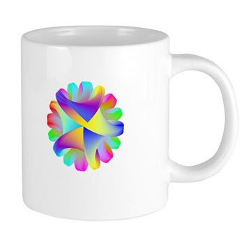 Twisted Rainbow Mugs
