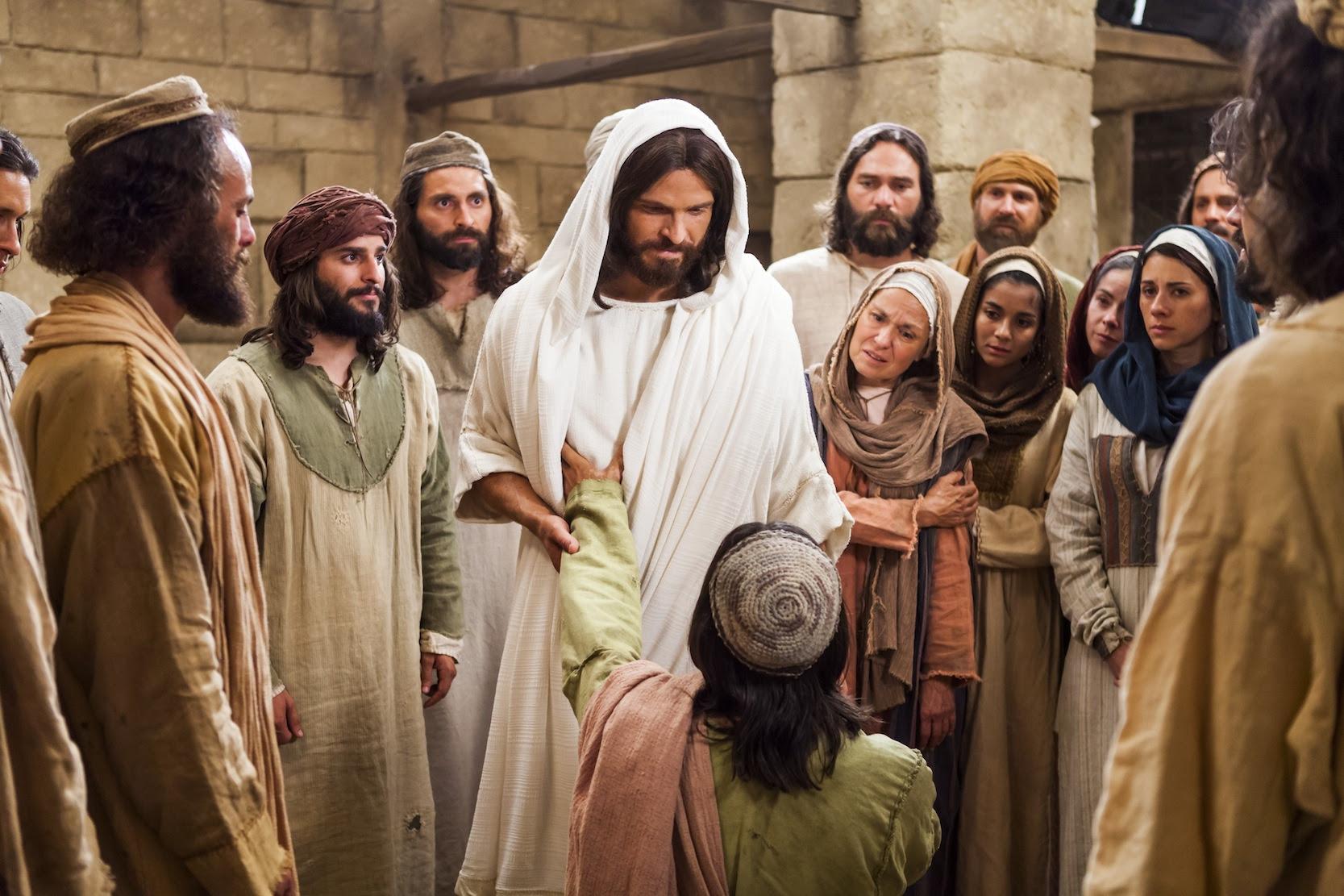 jesus healing blind