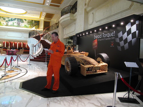 Asia's First Life-sized Bread Race Car