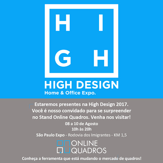 Online Quadros na HIGH DESIGN EXPO