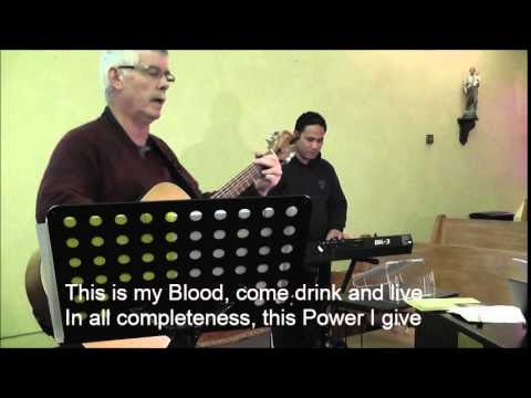 Catholic hymns the eucharist song by frank anderson stopboris Gallery