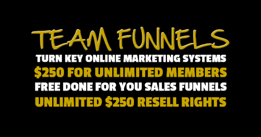 OWN YOUR OWN ONLINE MARKETING SYSTEM