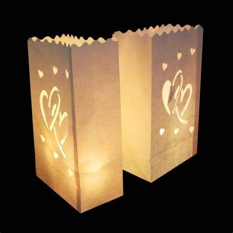 /Lottea Light Paper Lantern Candle Holder Bag For