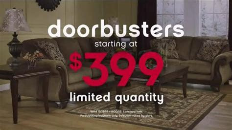 ashley furniture homestore black friday  hour sale tv