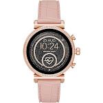 Michael Kors Access Sofie Heart Rate Touchscreen Smartwatch, Womens, Pink