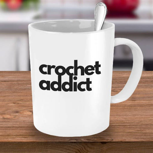 Crochet Coffee Mug Crochet Addict