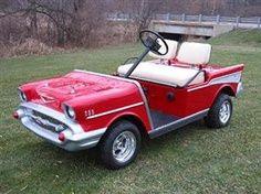 57 Chevy Golf Cart
