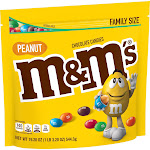 M&M's Peanut Family Size Chocolate Candies - 19.2oz