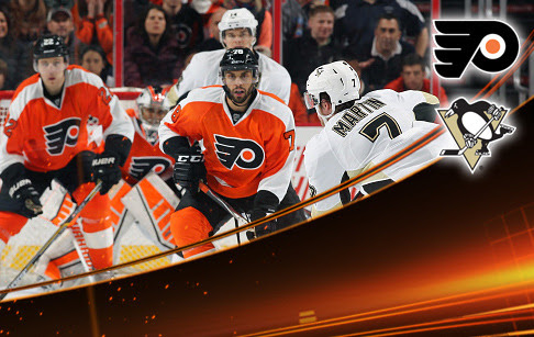 FIVE THINGS: Flyers at Pittsburgh Penguins