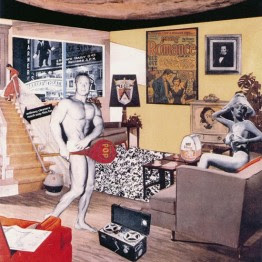 Richard Hamilton. Just what is it that makes today's homes so different, so appealing?, 1962