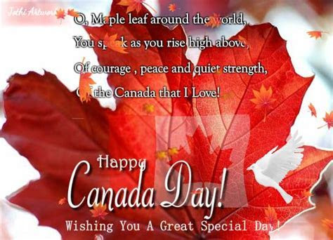 Special Canada Day Wishes! Free Canada Day eCards