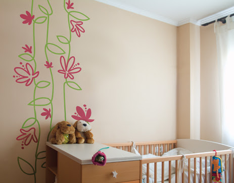 Kids Bedroom Interior Design on Barcelona Based Mira En Tu Interior   S Vinyl Stickers Can Enliven