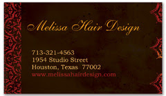 BCS-1037 - salon business card