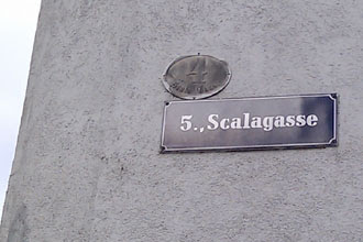 Scalagasse in Wien Margareten