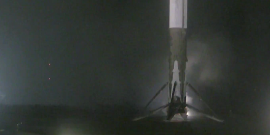 SpaceX makes history with the first orbital rocket landing in history