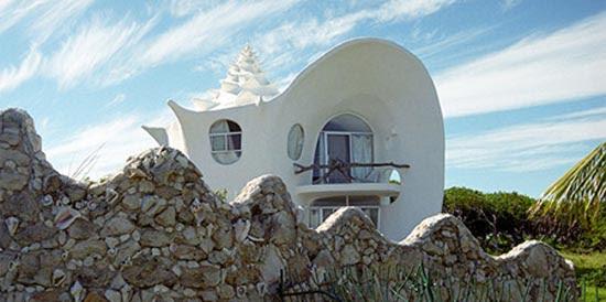 Σπίτι σε σχήμα κοχυλιού (1)