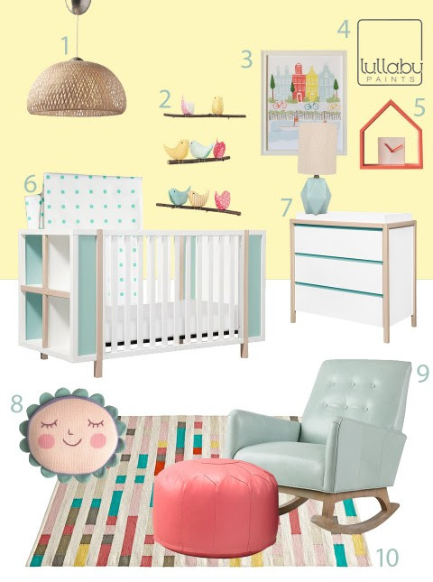 My Modern Nursery #101: Sunshine Yellow Sponsored by Lullaby Paints «
