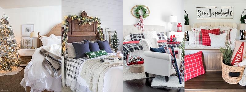 Farmhouse Holiday Bedrooms