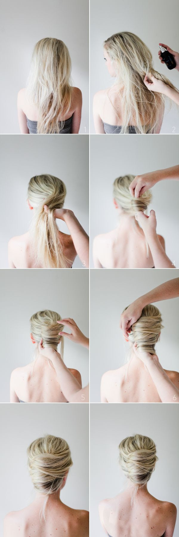 Messy French Twist Tutorial.  Hair tutorial