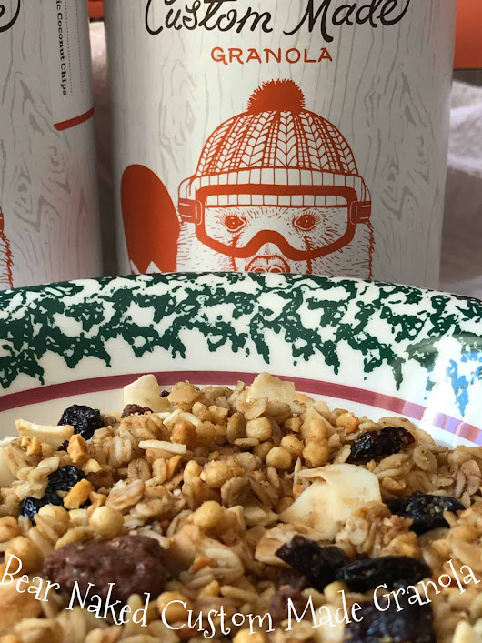 Custom Made Bear Naked Granola | Turnips 2 Tangerines