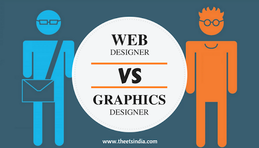 How a Web Designer and a Graphic Designer Job is Different from Each Other?