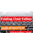 Folding Chair Follies - gina valley
