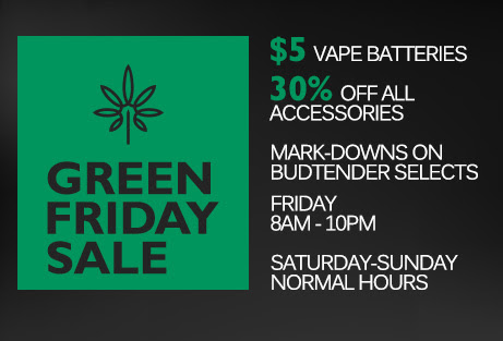 Green Friday and Weekend Specials