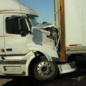 truck crash crashed wrecked smashed trucks