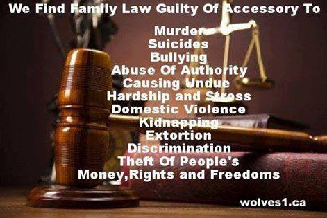 Writ as a parent and victim of retributions by our divorce and family courts