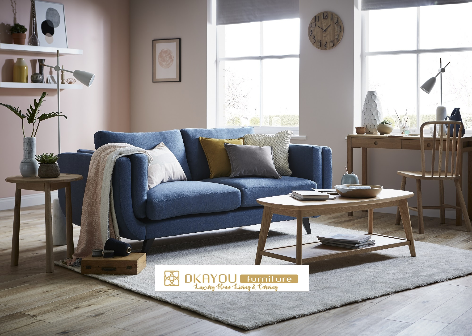 Set Kursi Sofa Tamu Minimalis Jepara Modern Dkayou Furniture Indonesia