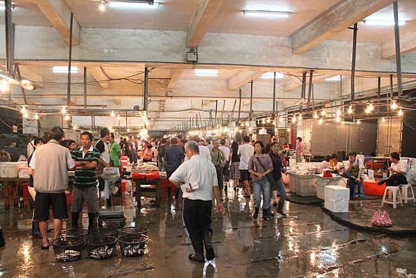台南安平漁市
