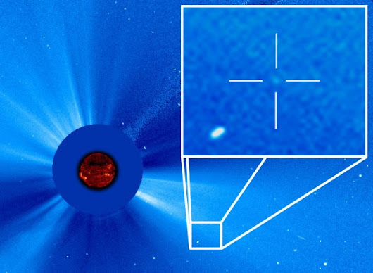 SOHO discovers its 3000th comet | EarthSky.org
