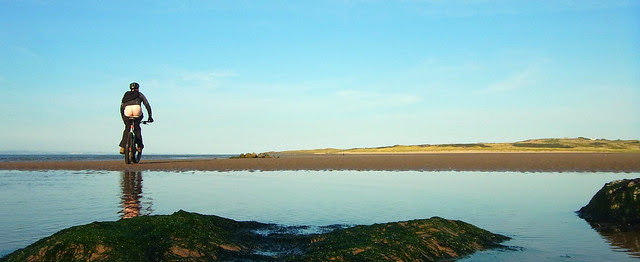 Aberlady and Gullane beachride.