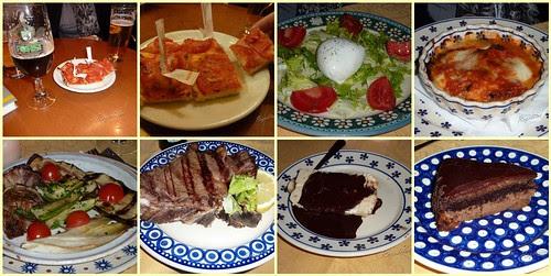 Cena en la Osteria