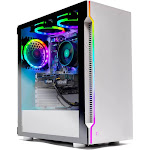 Skytech Archangel Gaming Computer PC Desktop – Ryzen 5 2600X 6-Core 3.6 GHz, GTX 1660 6G, 500GB SSD, 16GB DDR4 3000MHz, RGB Fans, Windows 10 Home 64-