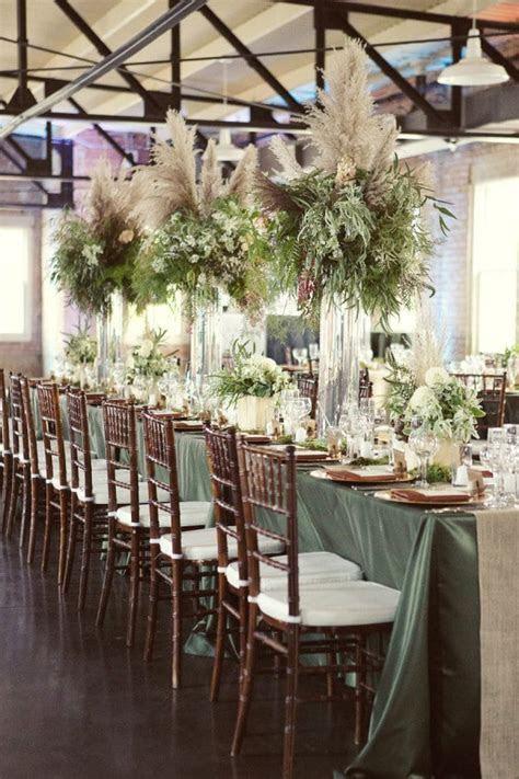 Wedding Wednesday : On Trend   Pampas Grass   Flowerona