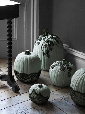 Veiled Pumpkins