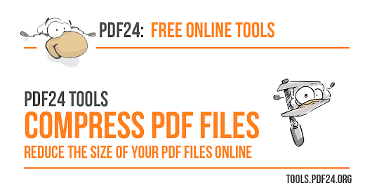 Compress PDF files - 100% free