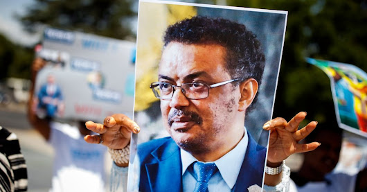 W.H.O. Elects Ethiopia's Tedros as First Director General From Africa - The New York Times