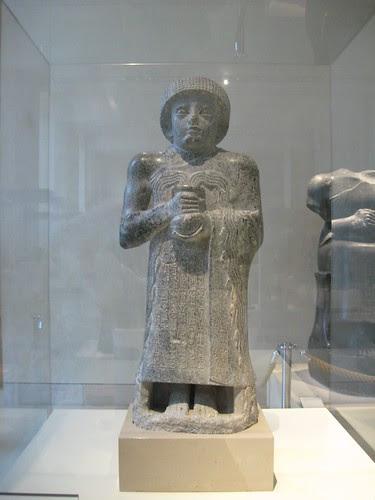 Escultura del príncipe Gudea de Lagash