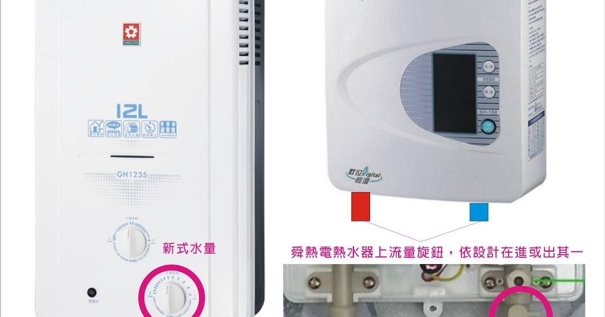 Hsin 543: 正確調整熱水器溫度穩定又節能
