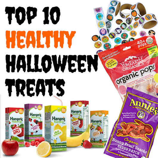 Top 10 Healthy Halloween Treats | Mama Natural