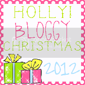 Grab button for Holly Bloggy Christmas