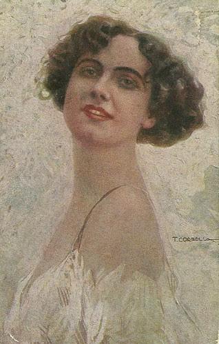 Francesca Bertini by Tito Corbella