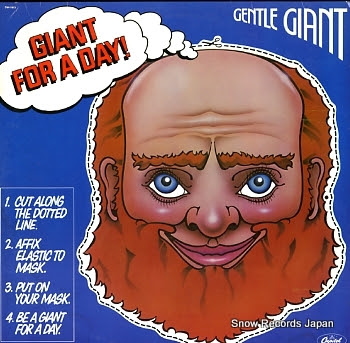GENTLE GIANT giant for a day